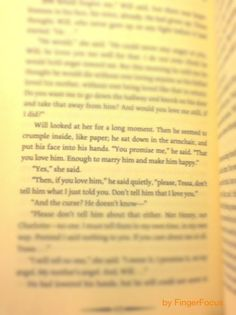 This book literally broke my heart in two. I swear, it's still not completely healed.
