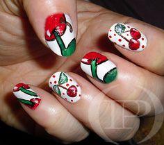CHERRY #nail #nails #nailart