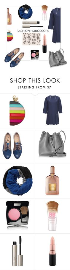 """FASHION HOROSCOPE"" by mavisback ❤ liked on Polyvore featuring Sophie Hulme, Lattori, Lancaster, Betty Barclay, Tom Ford, Chanel, Maybelline, Ilia and MAC Cosmetics"