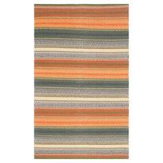 Striped Kilim Rug - Gold/Gray - (4'x6') - Safavieh