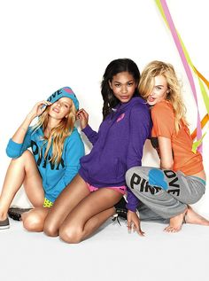 Picture of Milou Sluis Pink Outfits, I Got This, Vs Pink, Victoria's Secret Pink, Lounge Wear, Joggers, Hoodies, Pink Clothes, Shirts