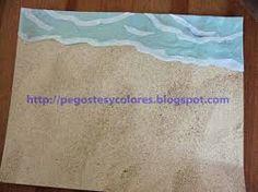 Resultado de imagen de cuadros de arena paso a paso Beach Mat, Outdoor Blanket, Step By Step
