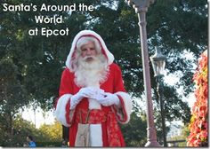 Santa's Around the World at Epcot - Travel With The Magic | Travel Agent | Disney Vacation