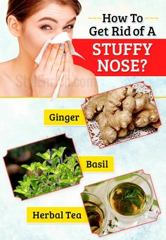 How To Get Rid of A Stuffy Nose Using Some Home Remedies?