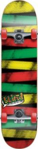 "Blind Rasta Stripes Rasta Complete Skateboard - 7.75"" x 31.2"" - 60$, good beginner board? Wish it were warmer out.."