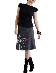 Zoe Chen Women's Cotton A-line Jersey Skirt With Bird On The Tree Large Gray Zoe Chen http://www.amazon.com/dp/B00IS4RZK8/ref=cm_sw_r_pi_dp_KIemvb1RRZXSH