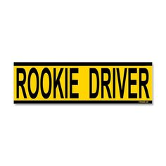 1707f686078c Stay safe on the road with your new driver s license or permit with Rookie  Driver Car
