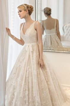 Lace Wedding Gowns - DesignerzCentral