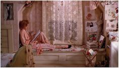 Movie art. love the styling of Andy's room from Pretty in Pink.