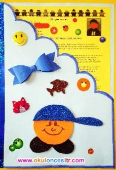 Gelişim Raporu Dosya Örnekleri preschool kindergarten report card cover