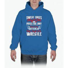 Girl's Wrestling Shirt - Only Tough Girls Wrestle Hoodie