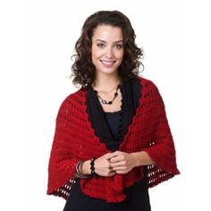 Free Intermediate Women's Shawl Crochet Pattern