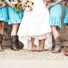 Rustic, country wedding