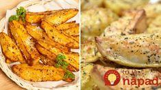 Recept na grécke zemiaky mám od šéfkuchára zo Santorini: Tak vynikajúce, že už nepotrebujete mäso, ani šalát! Greece Food, Chicken Wings, Santorini, Carrots, Meat, Vegetables, Carrot, Vegetable Recipes, Santorini Caldera