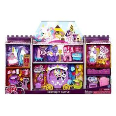 Amazon.com: My Little Pony Exclusive Deluxe Playset Canterlot Castle: Toys & Games