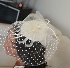 İvory Fascinator Head Piece, Bridal Fascinator, Wedding Hair Accessory, Wedding Head Piece, Fascinator hat for weddings by DRLBRIDES on Etsy https://www.etsy.com/listing/239141192/ivory-fascinator-head-piece-bridal