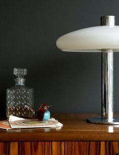 Living Room 'Dark' - Detail  'Obsidian Green'