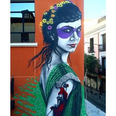 Something new from Fin DAC in Madrid, Spain #streetart #madrid #findac