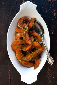 Soy Braised Kabocha Squash Recipe - Saveur.com