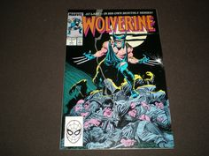 Wolverine 1, (1988), 1st appearance of Wolverine as Patch, Marvel Comics by HeroesRealm on Etsy