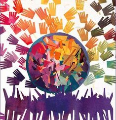 With art by Bonny Acker, this lovely poster made up of many hands will be a perfect addition to any classroom, office, or home where diversity is celebrated. 18 by 24 by our friends at Syracuse Cultural Workers Diversity Poster, Unity In Diversity, Cultural Diversity, School Displays, Festival Posters, One Tree, Logo Inspiration, Culture, Teaching