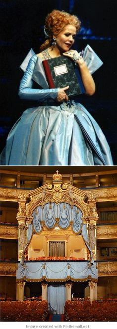 Renee Fleming/Marinsky Theatre St. Petersburg: The Tsar's Box - created via http://pinthemall.net