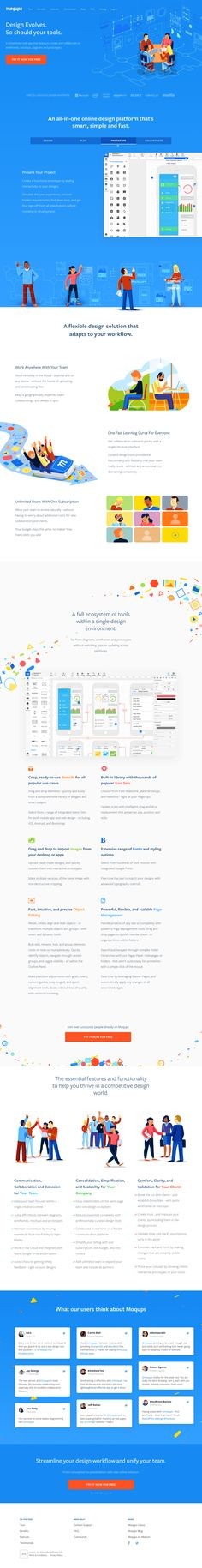 Moqups - Online Mockup, Wireframe & UI Prototyping Tool
