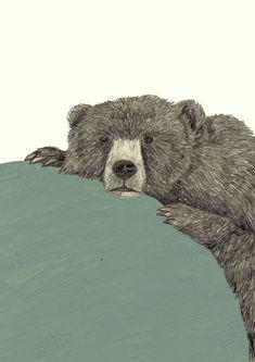 Sad Circus Bear