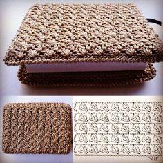 Crochet backpack pattern inspiration crochet bag from t shir yarn salvabrani – Artofit How to Crochet a Bodycon Dress/Top - Crochet Ideas Crochet Backpack Pattern, Crochet Wallet, Crochet Pouch, Crochet Diy, Crochet Motif, Crochet Crafts, Diy Crafts, Crochet Book Cover, Crochet Books