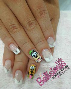 Nail Polish Crafts, Nail Art, Nails Inspiration, Pedicure, Acrylic Nails, Nail Designs, Hair Beauty, Lily, Disney