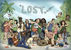 lost tv show fan art - Bahahah Sun's face! 0 0 O(