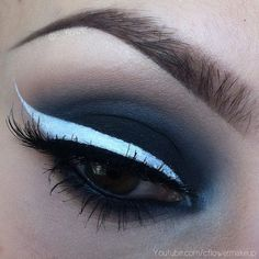 smokey with white liner!!!