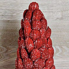 Red Velvet Madeleines are our variation to the favorite holiday cake. For a majestically elevated dessert, make four batches of the recipe for our impressive Madeleine Tree. Red Velvet Desserts, Red Velvet Pancakes, Red Velvet Recipes, Velvet Cake, Holiday Cakes, Christmas Desserts, Christmas Recipes, Christmas Cookies, Christmas Foods