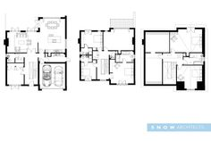 floor plans -  Meols Drive, Hoylake. Adjacent to the @RLGCHoylake #RLGC for @The_Open #TheOpen Contemporary Self Build Properties - RIBA architects based in Liverpool, Wirral, Merseyside