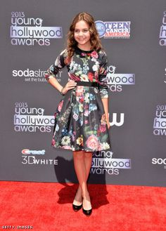Bailee Madison in Ted Baker