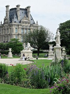 The Jardin Des Tuileries, Paris