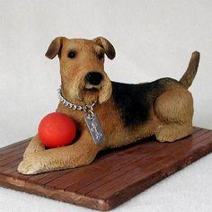 Dog Figurine - Airedale - My Dog