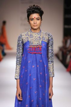 Vaishali's collection at Lakme Fashion Week/Winter Festive 2014. #lakmefashionweek #JabongLFW