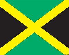 Plantilla PowerPoint con Bandera de Jamaica