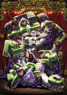 ✧゚・:*Prowl and Constructicons!!*:・゚✧