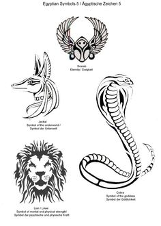 animais egipcios