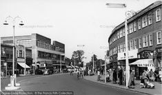 Photo of Morden, London Road from Francis Frith London History, Local History, Sutton Surrey, Old Street, Vintage Tv, Old London, Old Pictures, Childhood Memories, 1960s
