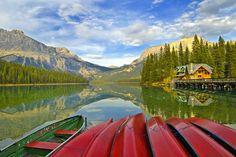 Emerald Lake in Yoho National Park in Canada Photo Credit: S.K Photography #bucketlist #yoho #nationalpark @Don Canada Jr