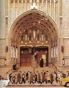 Norman Rockwell - Lift Up Thine Eyes