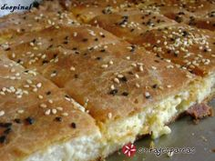 Greek Recipes, Desert Recipes, Cookbook Recipes, Cooking Recipes, Egyptian Food, Yummy Food, Tasty, Galette, Creative Food