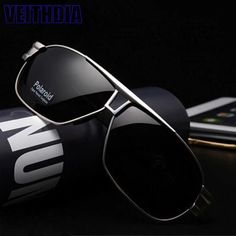 815cb4d2ff3e Men s Polarized Sunglasses Driving glasses Aviator outdoor Sports UV400  Eyewear