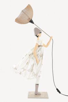 Skitso Girls Teresa Lampa - 85 cm Handmade Lamps, Best Sellers, Girls, Home Decor, Fashion, Toddler Girls, Moda, Decoration Home, Daughters