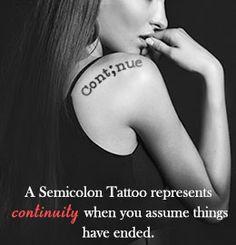 Incredibly Cute and Inspiring Semicolon Tattoo Designs