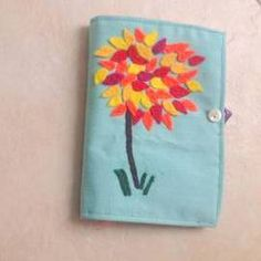 Autumn leaves needle case. £6.00