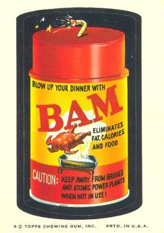 This spice apparently goes BAM!  Use with caution and pin your images of things that go BAM!